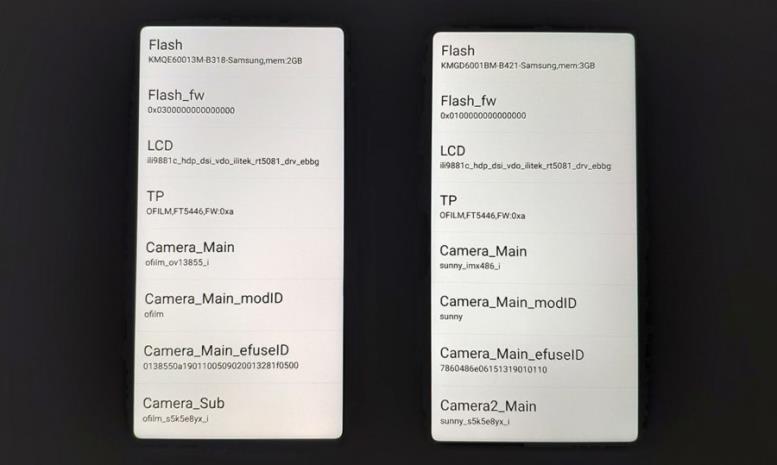 Слева экран Xiaomi Redmi 6A, а справа Redmi 6 (2)