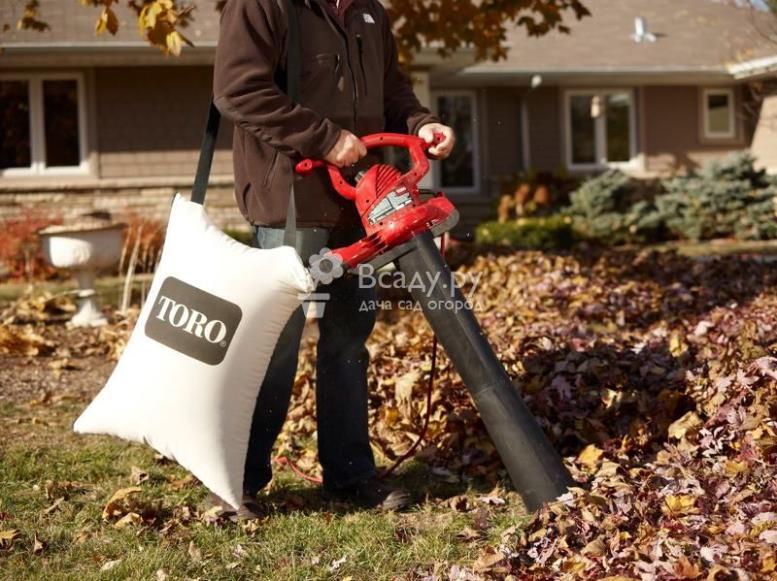Устройство, принцип действия и режимы садовых пылесосов