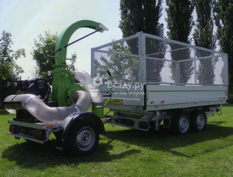 Перевозные промышленные пылесосы для уборки сада