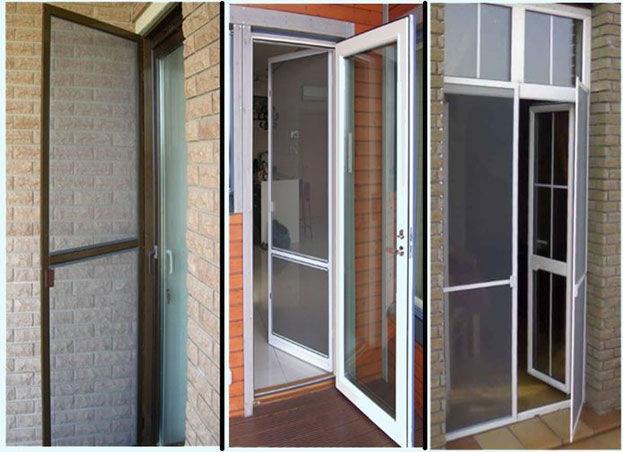 Москитная сетка для входных дверей частного дома