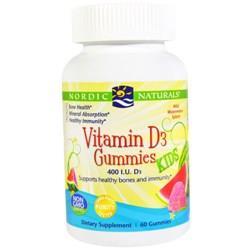 Витамин Д3 Nordic Naturals