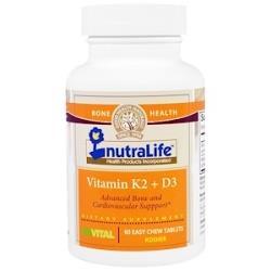 Витамин Д3 и К2 Nutralife