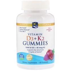 Витамин Д3 и К2 Nordic Naturals