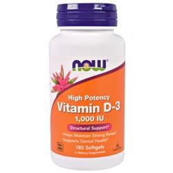 Витамин Д3 Now Foods