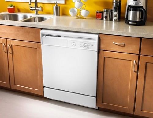Частично встраиваемые посудомоечные машины