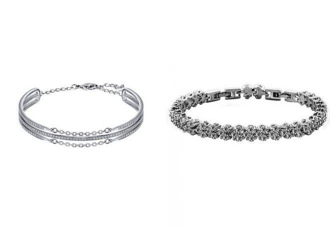 браслеты из белого золота для женщин