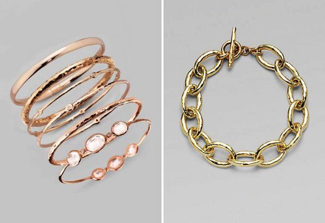 женские браслеты на руку из золота