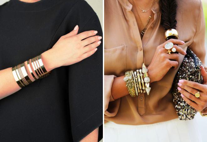 как выбрать женский золотой браслет