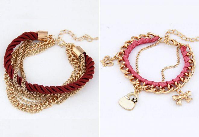 модные браслеты на руку для женщин