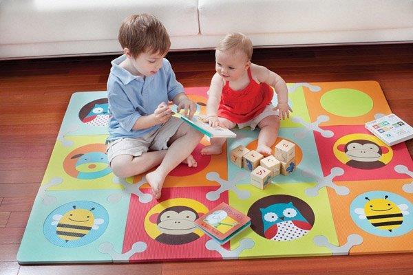Каким должен быть детский коврик фото 4