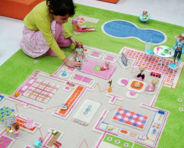 Каким должен быть детский коврик фото 2