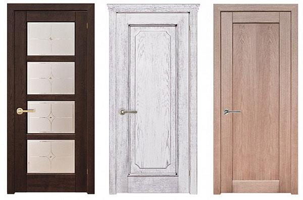 Двери из массива (фото)