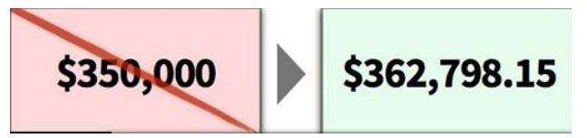 Будьте точными с большими ценами