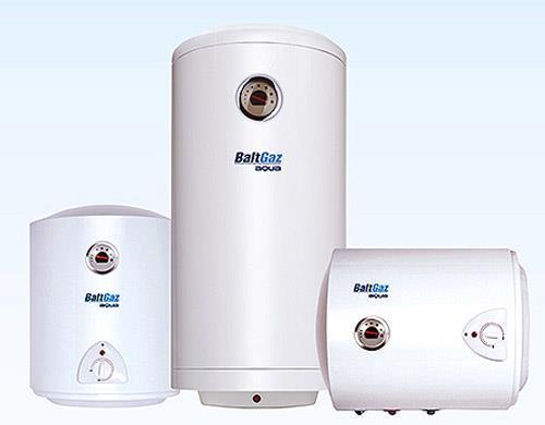 Накопительные водонагреватели разного объема (фото)