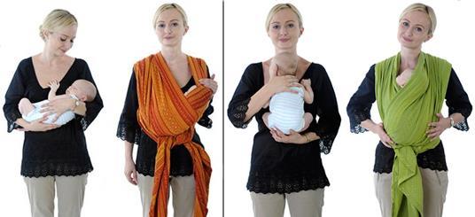 Слинг для новорожденного. Как выбрать?