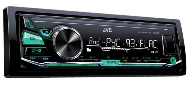 JVC KD –X 135