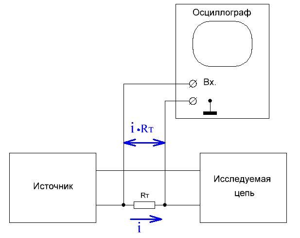 Схема подключения прибора в цепь