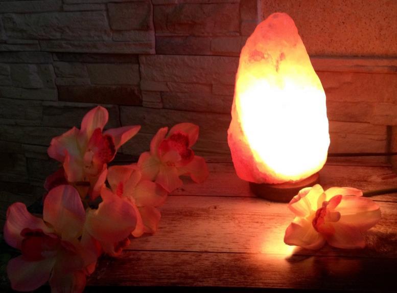 Солевая лампа: польза и вред.